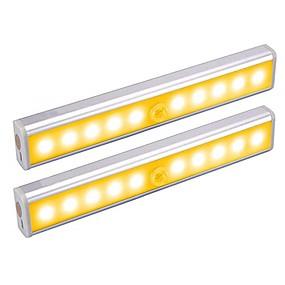 economico Luci LED per mobili-2pc sensore a infrarossi lampada corpo umano induzione luce di notte sensibile pir induzione luce sensore di movimento luce della lampada