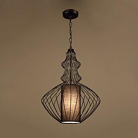 billige Hengelamper-CONTRACTED LED® geometriske / Lanterne Anheng Lys Nedlys Malte Finishes Metall Kreativ, Nytt Design 110-120V / 220-240V