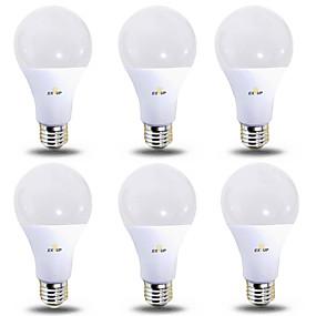economico Lampadine LED-EXUP® 6pcs 12 W Lampadine globo LED 1180 lm B22 E26 / E27 28 Perline LED SMD 2835 Bianco caldo Luce fredda 220-240 V 110-130 V