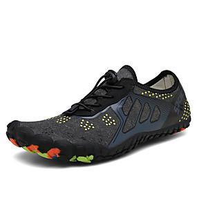 baratos Sapatos Esportivos Masculinos-Homens / Unisexo Sapatos Confortáveis Tecido elástico Verão / Primavera Verão Temática Asiática Tênis Água / Tênis Anfíbio Respirável Preto / Cinzento / Azul