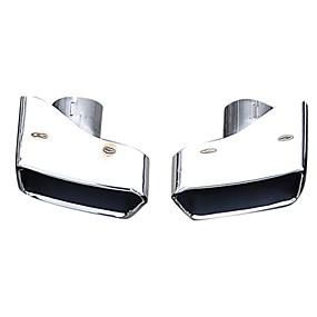 povoljno Dekoracija stražnjeg dijela automobila-Factory OEM 2pcs Savjeti za ispušne cijevi Cool Ispušni Mufflers Za BMW 535i 2010 / 2011 / 2012