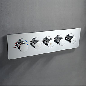 cheap Faucet Accessories-Faucet accessory - Superior Quality - Contemporary Brass Thermostatic Control Valve - Finish - Chrome