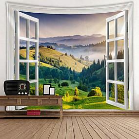 رخيصةأون اللوحات الجدارية-زهريFloral Theme جدار ديكور 100 ٪ بوليستر الحديث جدار الفن, سجاد الحائط زخرفة