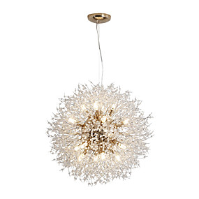 povoljno Sales-JSGYlights Glob Privjesak Svjetla Ambient Light Electroplated Metal Crystal, New Design 110-120V / 220-240V
