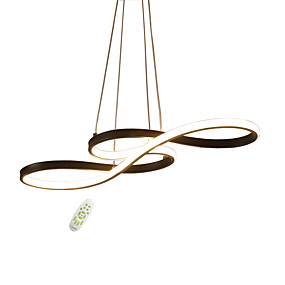 cheap Home Improvement-JSGYlights Sputnik / Island Chandelier Ambient Light Painted Finishes Metal Silica gel New Design 110-120V / 220-240V Dimmable With Remote Control