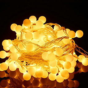 4 6m String Lights 30 Leds Warm White Decorative Aa Batteries Ed 1 Set