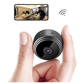 Недорогие IP-камеры для помещений-A9 IP-камера безопасности камера мини-камера Wi-Fi микро маленькая камера видеокамера видеорегистратор открытый ночная версия домашнего наблюдения HD беспроводной пульт дистанционного монитора телефон