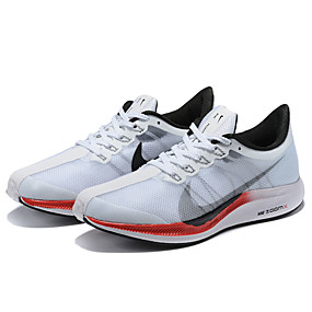 cheap Men's Athletic Shoes-Men's Comfort Shoes Elastic Fabric Spring & Summer Athletic Shoes Running Shoes White