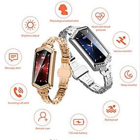 povoljno Besplatna dostava-KUPENG B78 Žene Smart Narukvica Android iOS Bluetooth Smart Sportske Vodootporno Heart Rate Monitor Mjerenje krvnog tlaka Brojač koraka Podsjetnik za pozive Mjerač sna sjedeći Podsjetnik Pronađi moj