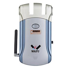 halpa Lukko-wafu wifi kaukosäädin ovilukko app kaukosäädin näkymätön turvallisuus oven lukko kotiin hotelli toimisto ios / android-järjestelmä (wf-008w)