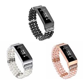 hesapli Smartwatch Bantları-Watch Band için Fitbit Charge 3 Fitbit Takı Tasarımları Seramik Bilek Askısı