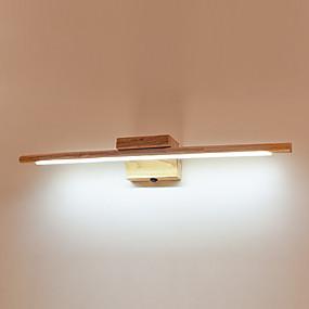 cheap Vanity Lights-JSGYlights New Design LED / Modern Contemporary Bathroom Lighting Bedroom / Bathroom Wood / Bamboo Wall Light IP20 85-265V 10 W