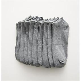 povoljno Čarape-5 Parovi Žene Čarape Jednobojni Rješava stres Pamuk EU36-EU42
