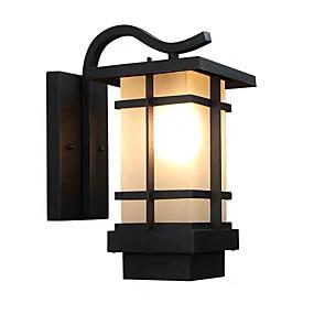 저렴한 야외 벽 조명-벽 빛 엠비언트 라이트 야외 벽 조명 12 W 110-120V / 220-240V E26 / E27 LED / 현대 현대