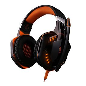 voordelige Gaming-LITBest G2000 Gaming Headset Bekabeld Gaming Ruisonderdrukking