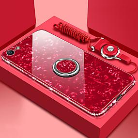 povoljno Telefoni i pribor-Θήκη Za Apple iPhone XS Max / iPhone 6 Zrcalo Stražnja maska Jednobojni Tvrdo Kaljeno staklo za iPhone XS / iPhone XR / iPhone XS Max