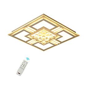 halpa Kattovalaisimet ja tuulettimet-Ecolight Kristalli / Geometrinen Upotettavat valaisimet Tunnelmavalo Maalatut maalit Metalli Kristalli, LED 110-120V / 220-240V Lämmin valkoinen / Valkoinen / Himmennettävä kaukosäätimellä