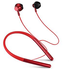 رخيصةأون وصل حديثاً-LITBest M20 سماعة رأس حول الرقبة لاسلكي الرياضة واللياقة البدنية بلوتوث 4.2 مع ميكريفون