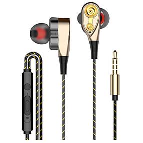 abordables Écouteurs intra-auriculaires câblés-LITBest S2 Eeadphone filaire intra-auriculaire Câblé Téléphone portable Stereo