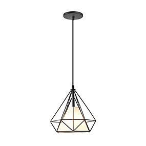 billige Hengelamper-geometriske Anheng Lys Nedlys Malte Finishes Metall 110-120V / 220-240V Varm Hvit / Kald Hvit