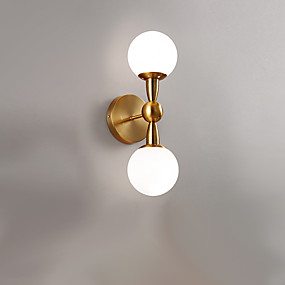 cheap Wall Lights-Creative / New Design Simple / Modern Contemporary Wall Lamps & Sconces Living Room / Indoor Metal Wall Light IP20 110-120V / 220-240V 12 W