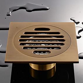 ราคาถูก ท่อระบายน้ำ-ท่อ ดีไซน์มาใหม่ / เท่ห์ ที่ทันสมัย ทองเหลือง 1pc ติดผนัง