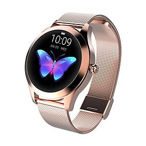 رخيصةأون الخصومات الخاصة & العروض-kw10 الأزياء الذكية مشاهدة النساء جميل سوار القلب رصد معدل النوم رصد smartwatch ربط ios الروبوت