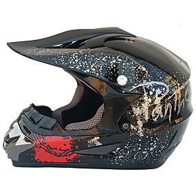billige Nyankomne i august-mote utendørs off road casco motorsykkel& Moto skitt motorsykkel motocross racing hjelm sett med maske