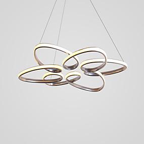 halpa Kattovalaisimet ja tuulettimet-CONTRACTED LED® Sputnik / Erikois Kattokruunu Tunnelmavalo Maalatut maalit Alumiini LED, Uusi malli 110-120V / 220-240V Lämmin valkoinen / Kylmä valkoinen
