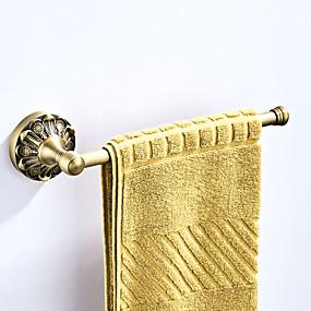 voordelige Badkamerarmaturen-Handdoekstang Nieuw Design Antiek / Landelijk Messinki 1pc - Badkamer / Hotel bad Muurbevestigd