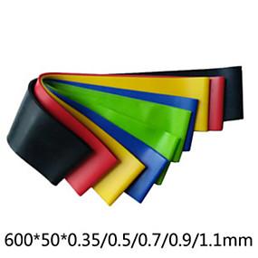 voordelige Pilates-Fitnessband 5 cm Diameter latex zijde Leven Yoga Voor Unisex