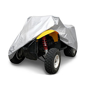 voordelige Autohoezen-quad tractor atv cover uv regen waterdicht uv hittebestendig