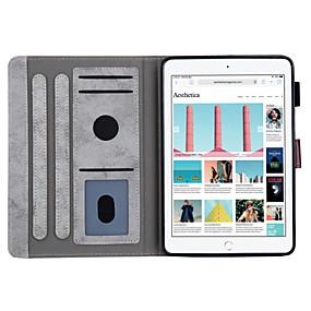 povoljno Oprema za tablete-kutija za Apple ipad mini 3/2/1 / ipad mini 4 / ipad mini 5 automatsko spavanje / buđenje / magnetno / sa stalkom cijela torbica čvrste boje meka pu koža za ipad mini 3/2/1 / ipad mini 4 / ipad mini 5