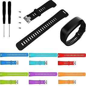 povoljno Smartwatch bendovi-zamjena sportske silikonske narukvice narukvica za ručni zglob trake za ručni sat za garmin pribor vivosmart hr