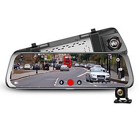billige Nyankomne i september-junsun a910 10 stream bakspeil fhd 1080p dash cam kamera videoopptaker auto registrar dashcam