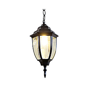 abordables Plafonniers-luminaire suspendu plafonnier peint en aluminium 110-120v / 220-240v