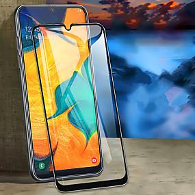 levne Chrániče obrazovky mobilního telefonu-chránič obrazovky pro samsung galaxii a10 / a20 / a30 / a40 / a50 / a70 / plné tvrzené sklo 1 ks přední kryt chrániče obrazovky s vysokým rozlišením (hd) / 9h tvrdost