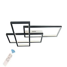 hesapli Gömme Montaj-Led40w modern gömme montaj ışıkları / tavan ışıkları duvar aplikleri boyalı alnminum bitirir oturma odası için show room ofis odası / sıcak beyaz / beyaz / kısılabilir uzaktan kumanda ile / wifi