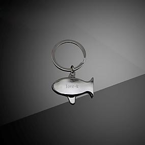 povoljno Gravirana oprema-personalizirana Klasičan Graviranog Privjesak Osnovni Romantični Casual / sportski Dar Obećanje Festival Circle Shape 1pcs Pink / Lasersko graviranje