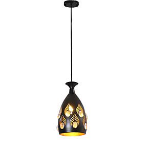 billige Hengelamper-Bowl / Cone / geometriske Anheng Lys Omgivelseslys Malte Finishes Metall Krystall, Kreativ, Justerbar 110-120V / 220-240V