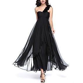 povoljno Pretprodaja-Žene Elegantno Swing kroj Haljina - Drapirano, Jednobojni Maxi