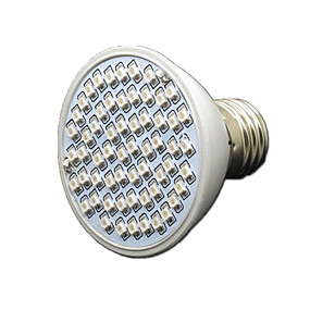 preiswerte LED Pflanzenlampe-1pc 4 W 360-430 lm 60 LED-Perlen Wachsende Leuchte Rot Blau 85-265 V Gemüse Gewächshaus