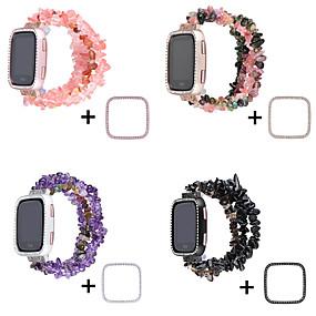 billige Smartwatch Case-etui med bånd for fitbit versa keramisk kompatibilitet fitbit etui med bånd