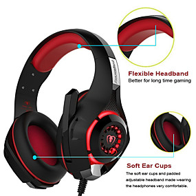 voordelige Gaming-KOTION EACH GM-1 Gaming Headset Bekabeld Gaming Stereo