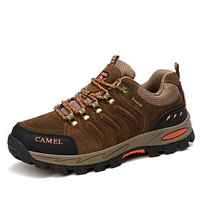 baratos Sapatos Esportivos Masculinos-Homens Sapatos Confortáveis Couro Ecológico Outono Tênis Aventura Preto / Cinzento / Khaki