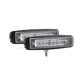 abordables Nouvelles arrivées en septembre-La voiture 2pcs / Set a mené des lumières 7 120w projecteurs ultra-minces barre légère rangée suv cross-country light