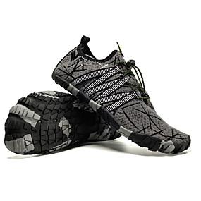 baratos Sapatos Esportivos Masculinos-Homens Sapatos Confortáveis Lona Outono Tênis Preto / Verde / Vermelho