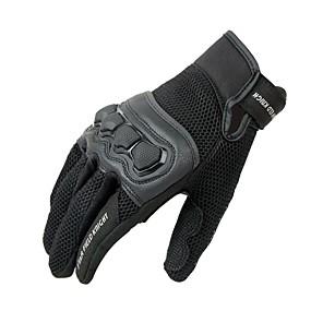 abordables Nouvelles arrivées en septembre-1 paire moto gants chevalier journalier protection écran tactile gants été respirant maille gant