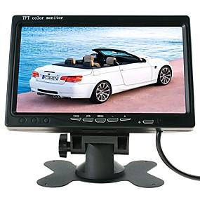 billige 10%OFF-ziqiao 7 tommer tft lcd bilskjerm parkeringssystem bil bakfra monitor for bil / buss / lastebil hk grensesnitt