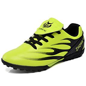 baratos Sapatos Esportivos Femininos-Mulheres Tênis Sem Salto Ponta Redonda Couro Ecológico Esportivo Futebol Primavera Verão Verde / Preto / Vermelho / Azul Real